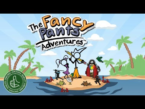Fancy Pants Adventures - Android / iOS Gameplay