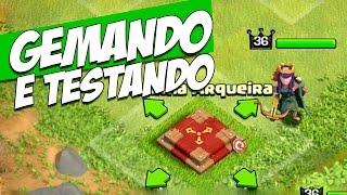 GEMANDO E TESTANDO RAINHA ARQUEIRA!! CLASH OF CLANS