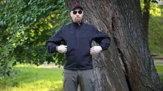 """Видео обзор куртки тактической Soft-shell, цвет черный от """"Chameleon""""."""