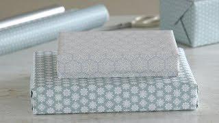 How to Expertly Wrap a Gift Box- Martha Stewart