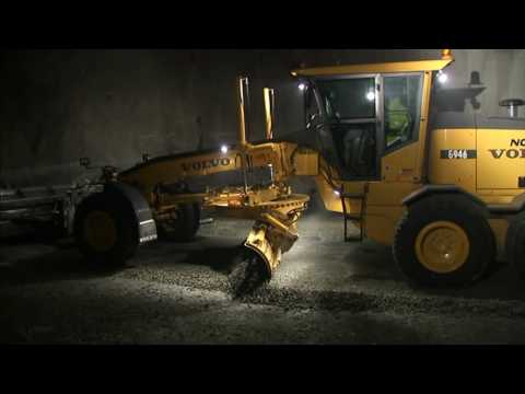 Volvo working Underground, Volvo Construction machines in Un