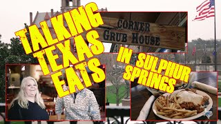 Come with us as we meet Dinky with Corner Grub House in Sulphur Springs, Texas