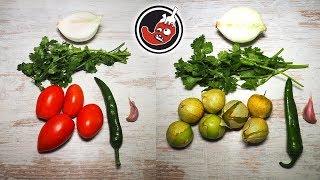 Два острых соуса-сальсы: сальса роха и сальса верде. Или что такое томатилло и с чем их едят?
