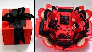 Explosion Box Full Tutorial / How To Make Explosion Box / DIY Explosion Box - Explosion Gift Box