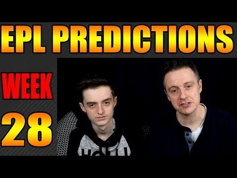 Premier league predictions week 28 2017/18 epl scores and results
