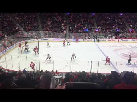 Red Wings V.S. Oilers 11/3 - Goal 7 (DET)