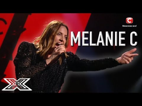 Melanie C performs &39;I Turn To You&39; on The X Factor Ukraine  X Factor Global