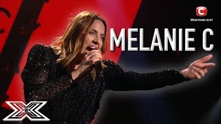 Melanie C steals the stage at The X Factor Ukraine with a performan...