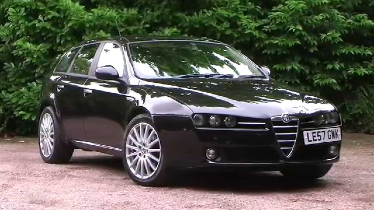 alfa romeo 159 sportwagon 1 9 jtdm 16v lusso 5dr le57gwk youtube. Black Bedroom Furniture Sets. Home Design Ideas