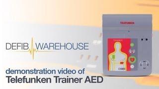 Telefunken Trainer AED demonstration