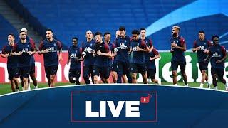 ⚽️ L'avant match Atalanta Bergame - Paris Saint-Germain en live ! 🔴🔵