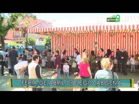 Feria de Abril 2017 en el colegio Abgena de Gines