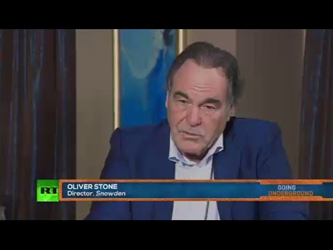 Snowden exposed mass surveillance to show it's for control, not counterterrorism – Oliver Stone