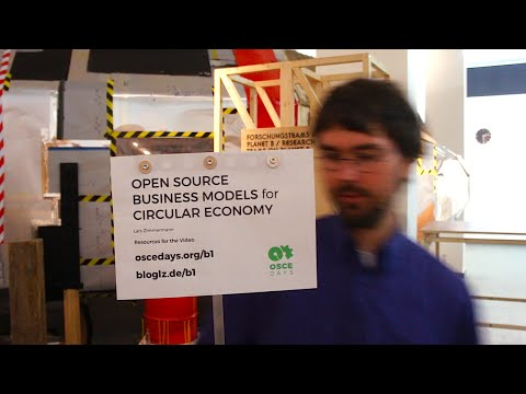 Open Source Business Models for Circular Economy – Video 3/9 – Examples & Platforms