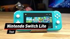 Nintendo Switch Lite im Test | deutsch
