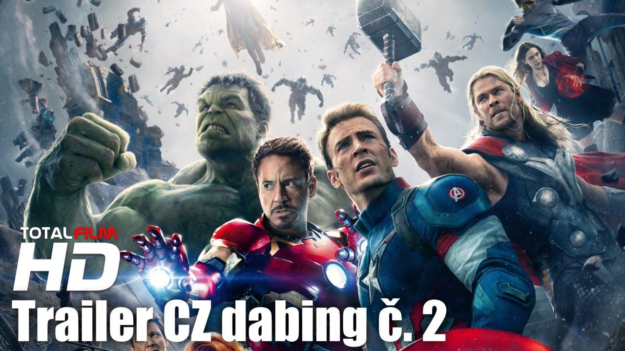 Avengers: Age of Ultron (2015) CZ HD dabing trailer č. 2