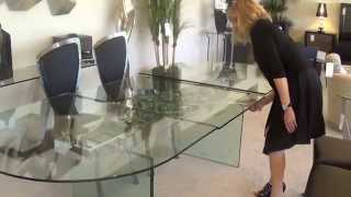 Gmi Designs Presents Our Newest Glass Extension Dining Table