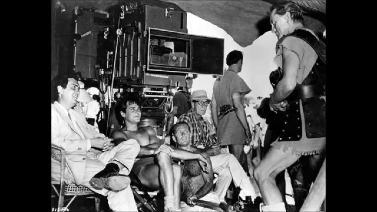 Behind the Scenes Photos Spartacus 1960  YouTube