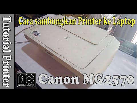 Mudah dan Praktis│Install Driver Printer CANON IP2770 Tanpa Menggunakan CD #OTAKATIKPRINTER.