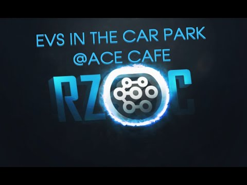 EVs In The Car Park @ ACE Cafe Londom