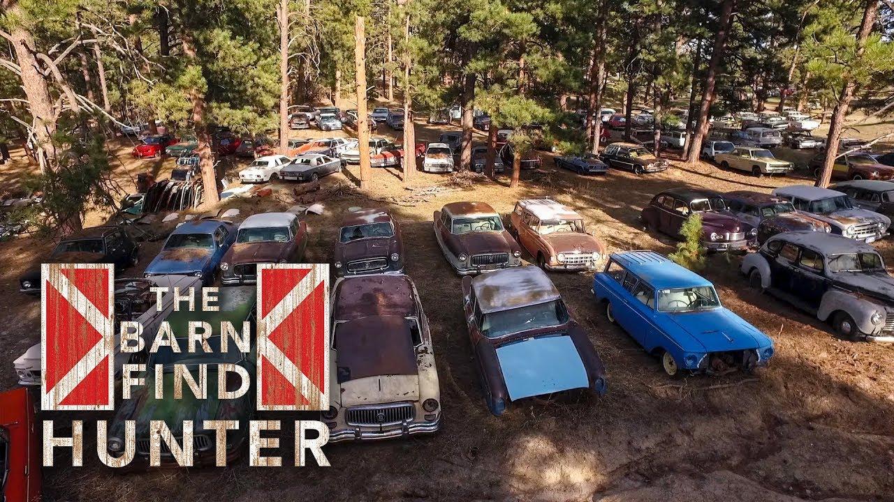 700 Cars Hidden On A Ranch In Colorado