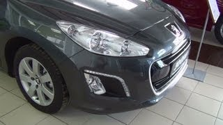 Peugeot 308 SW Active 1.6 HDI/92 BVM5 Exterior and Interior in Full 3D HD