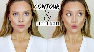 AFFORDABLE Cream Contour & Highlight Routine