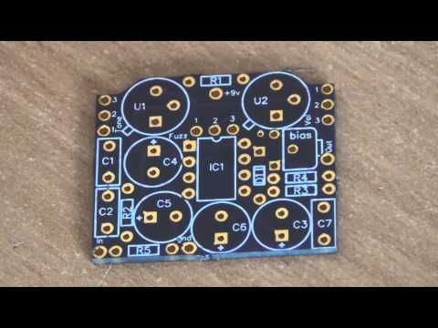 Design your own Guitar Pedal PCB Layout - Double Sided (Part 2)