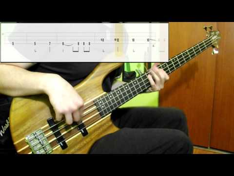 Audioslave - Like A Stone (Bass Cover) (Play Along Tabs In Video)