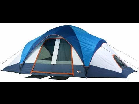 Mountain Trails Grand Pass 2 Room Family Dome Tent Review