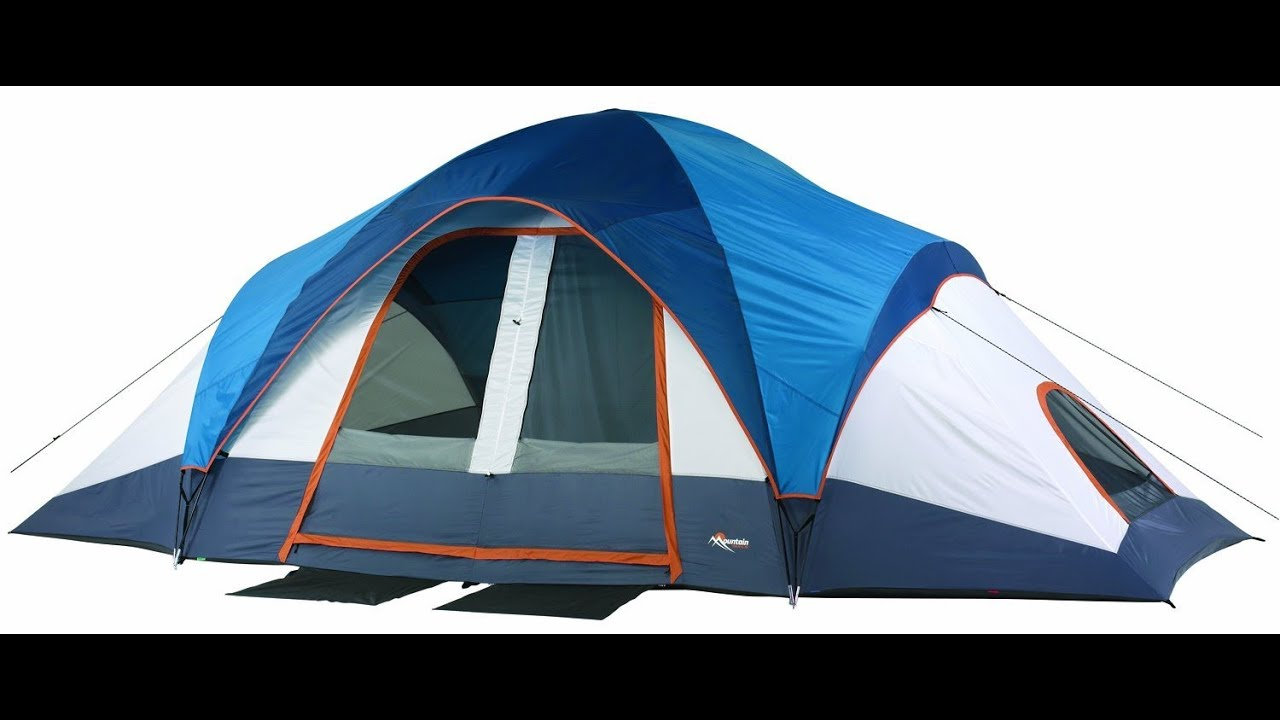 Mountain Trails Grand Pass 2 Room Family Dome Tent Review  sc 1 st  YouTube & Mountain Trails Grand Pass 2 Room Family Dome Tent Review - YouTube