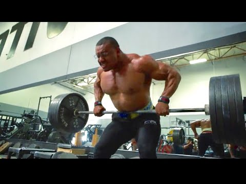 LARRYWHEELS VS BIGSCBOY - 500LB BARBELL ROWS!
