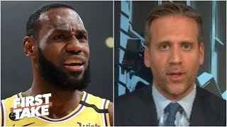 LeBron is NOT still the best player in the world! - Max Kellerman | First Take