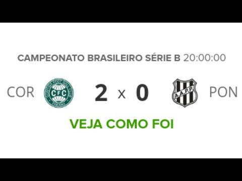 Coritiba 2 x 0 Ponte Preta - Melhores Momentos | Brasileirão Série B 29/04/19