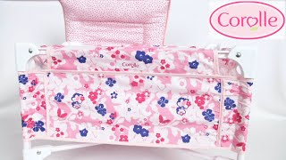 Mon Classique Doll Bed and Changing Table from Corolle