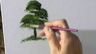 Preview | Painting Acrylic Trees and Landscapes with Terry Harrison