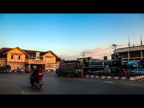 Phitsanulok City 2014 , Thailand : Time - Lapse HD