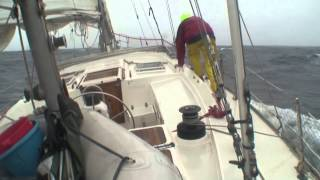 Atlantic sailing with Kristian. Под парусом по Атлантике