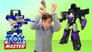 Toy Master и #ТРАНСФОРМЕРЫ: Супер битва БЛАСТЕРОВ🔫 Автоботы и #ТойМастер против Десептиконов