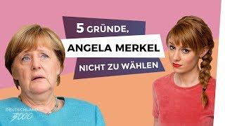 5 Gründe, Angela Merkel nicht zu wählen