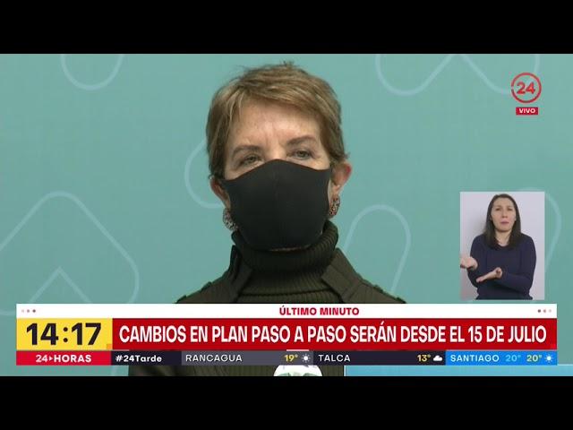 Nuevo plan Paso a Paso: Gobierno presenta cambios que regirán a partir del 15 de julio