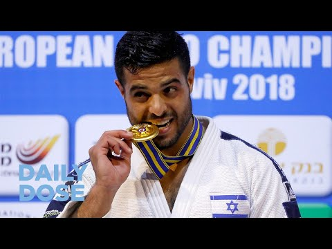 Israeli Judo Team Takes on Abu Dhabi Tournament