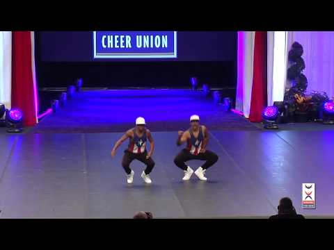 Team Puerto Rico [Hip Hop Doubles] - 2015 ICU World Cheerleading Championships