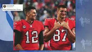 Patriots Insider Tom Curran on Fallout from Gronkowksi Trade to Bucs | The Rich Eisen Show | 5/1/20