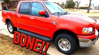 Copart 2001 Ford F150 4x4 Suspension Pt 3 Alignment + Tires