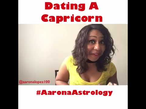 Aaron astrology dating an aries male capricorn female