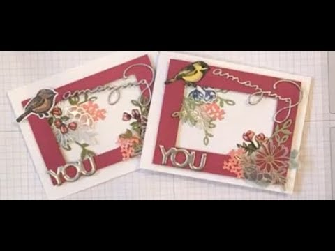 Amazing You Flower Bouquet Card
