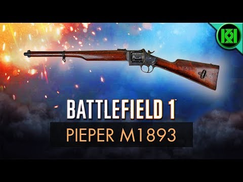 Battlefield 1: Pieper M1893 Review (Weapon Guide) | BF1 Weapons | BF1 Multiplayer Gameplay