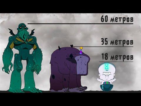 Gravity Falls Сравнение Размеров Персонажей