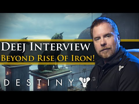 Destiny - Rise of Iron Info: My Gamescom Interview with Deej from Bungie